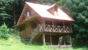 Cabaña del balcón
